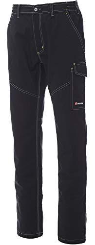 PAYPER Pantaloni da lavoro 100% cotone Worker Summer, Nero , L