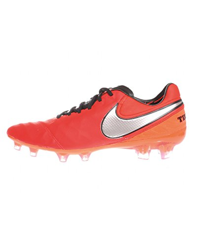 Nike Tiempo Legend VI FG, Scarpe da Calcio Uomo, Multicolore Lt Crmsn Mtllc Slvr Ttl Crmsn, 41 EU