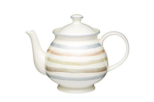 Kitchen Craft Teekanne klassisch 1400ml in weiß, Porzellan, 12 x 17 x 22 cm