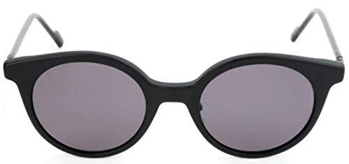 adidas Sonnenbrille AOK007 Rund Sonnenbrille 49, Schwarz
