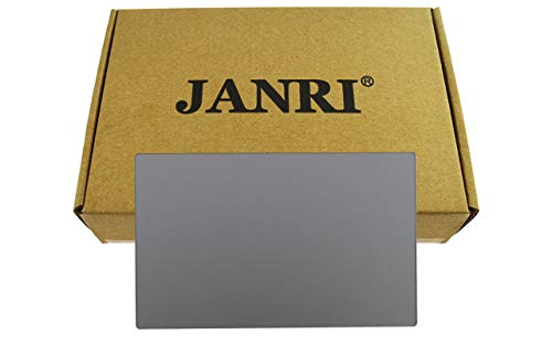 """JANRI Replacement trackpad touchpad for Apple MacBook 12"""" inch MacBook8,1 Retina A1534 MF855LL/A MF865LL/A MJY42LL/A MJY32LL/A MK4N2LL/A MK4M2LL/A Early 2015 Silver"""