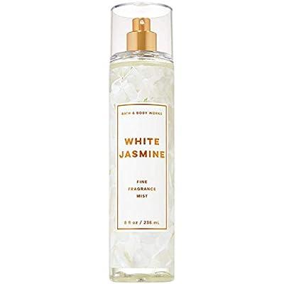 Bath and Body Works White Jasmine Fine Fragrance Mist 8 Fluid Ounce (2019 Limited Edition)
