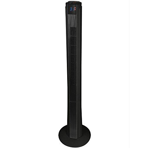 Syntrox Germany TFT-50W-DTP - Ventilatore a torre XXL, con telecomando, timer e oscillazione