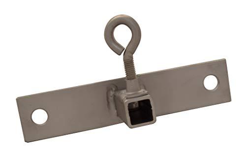 KSF Grillgeräte Außenklammer Langgabel; für Vierkantspieß 10 mm