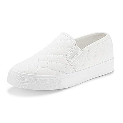 Amazon - Save 40%: JENN ARDOR Women's Fashion Sneakers Classic Slip on Flats Comfortable…