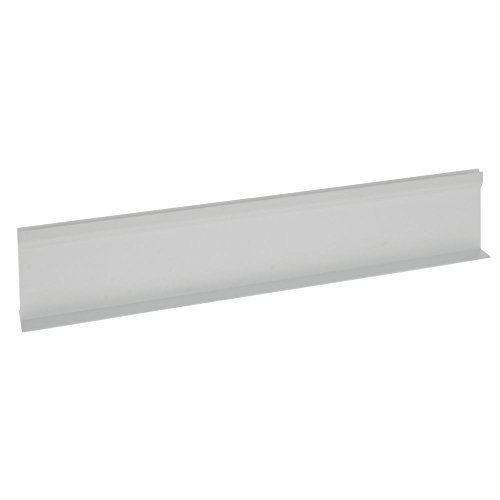 """Divider for Parsley Runner with Aluminum Support White Plastic""""T"""" Shape - 18""""L x 3 1/2""""H"""