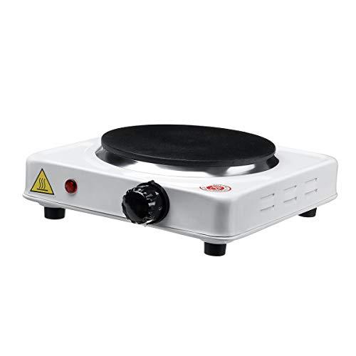 SISHUINIANHUA Estufa Mini Estufa eléctrica Laboratorio Ajustables eléctricamente Placas de Calentamiento del Horno Calentador Caliente 110V 1000W