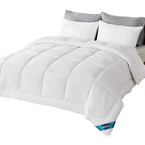Bedsure Queen Comforter Duvet Insert - Quilted White...