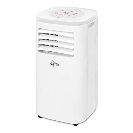 SUNTEC Aire acondicionado local móvil CoolFixx 2.6 Eco R290 | Silencioso | Tubo para la evacuación del aire condensado | Enfriar habitacion hasta 34 m2 | 9.000 BTU/h