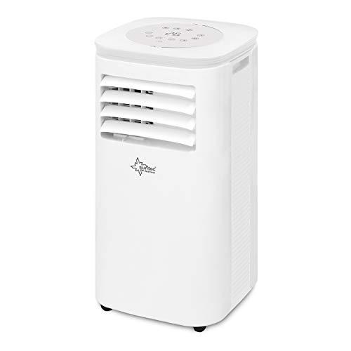 SUNTEC Mobiles lokales Klimagerät CoolFixx 2.6 Eco R290 | für Räume bis 80 m3 (34 m2) | inkl. Abluftschlauch | Kühler und Entfeuchter mit ökologischem Kühlmittel R290 | 9.000 BTU/h