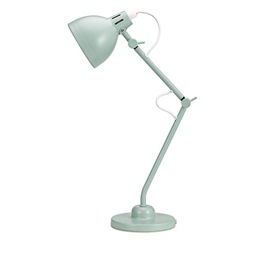 Pauleen True Buddy 48151 - Lámpara de mesa (25 W, E14, 230 V), color verde menta