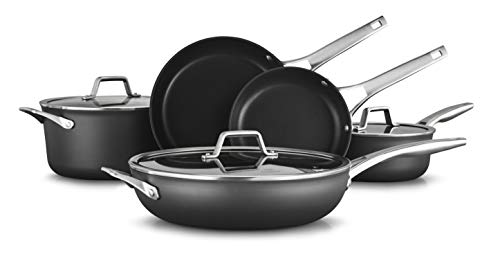 Calphalon Premier Hard-Anodized Nonstick Cookware  Set