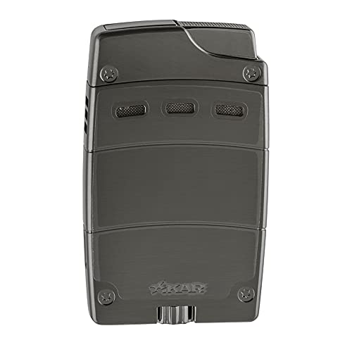 Xikar Ultra Magnetic Lighter, Single Jet Flame, Metal Body, Magnetic Attachment System, Gunmetal)