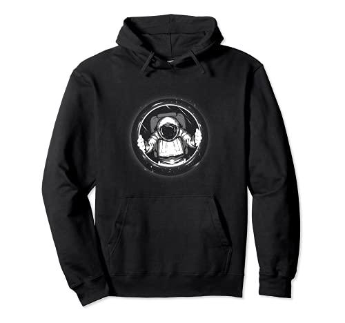 Astronaut Raumschiff Weltraum Raumfahrer Weltall Pullover Hoodie