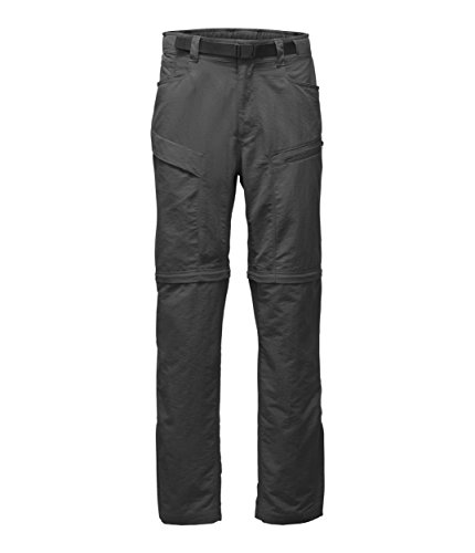 The North Face Men's Paramount Trail Convertible Pants - Asphalt Grey - Large-Short