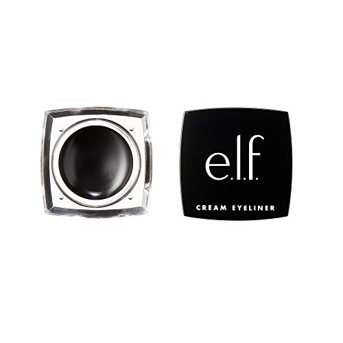 Cream Eyeliner, Water-Resistant Smudge-Proof, Black, 0.17 Ounce