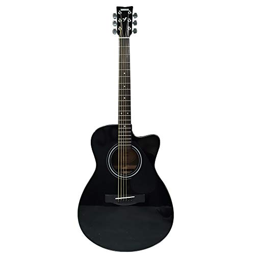Yamaha FS80C The Ultimate Concert Body Cutaway Acoustic Guitar (Black)