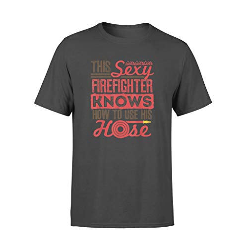 ShingoC Ltd Camiseta estándar para hombre sexy de bombero, broma de bombero,...
