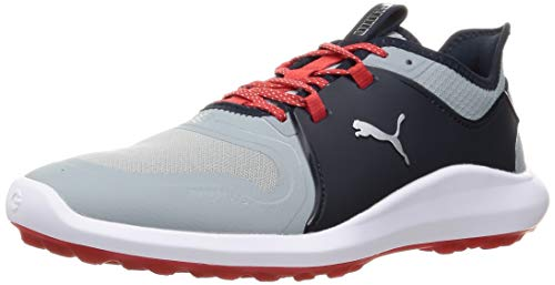 PUMA 193000, Zapatos de Golf Hombre, Quarry Plata Armada Blazer, 43 EU