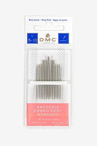 DMC 1765-5/10 Embroidery Hand Needles, 16/pkg
