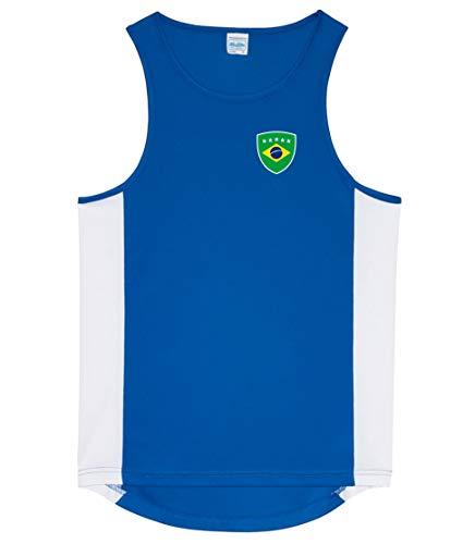 Camiseta sin mangas para deporte, diseño de la Nation...
