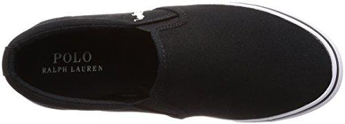 [ポロラルフローレン]スニーカーシューズジュニアユニセックスCarleeTwinGoreIIBLACK23.5cm