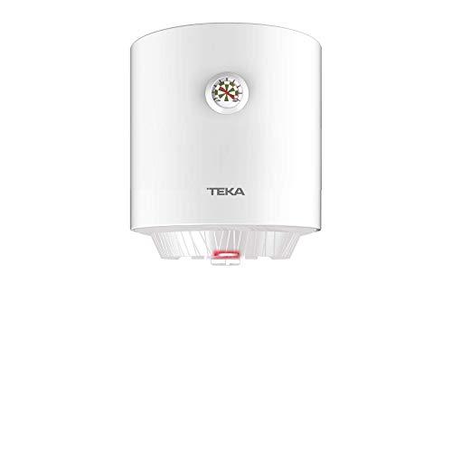 Teka | Termo eléctrico de 15 litros | EWH 15 C | Consumo medio para 1-2 personas | Tanque esmaltado Zafire | Color Blanco
