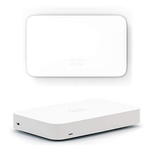 Cisco Meraki Go 法人向け Wi-Fiアクセスポイント 屋内用 + セキュリティゲートウェイ (スモールビジネス、テレワーカー向けルーター&ファイアウォール)【Amazon.co.jp 限定】