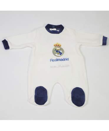 Pelele Bebe Real Madrid 101 - Tallas bebé - 3 Meses