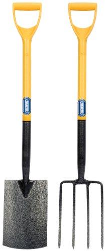 Draper DIY-Serie 09245 Ensemble fourche et pelle en carbone