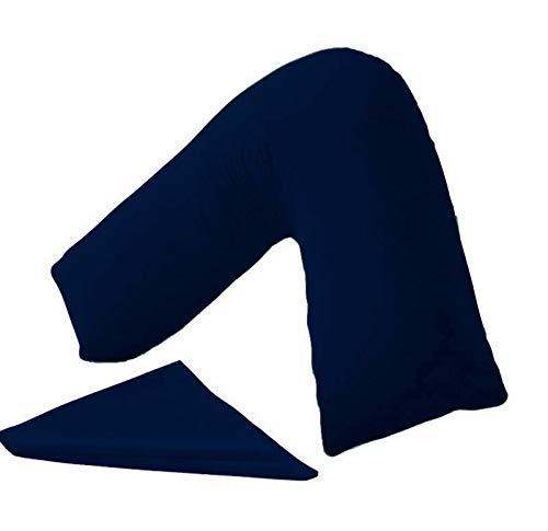 en forme de V Taie d'oreiller Housse uniquement Dos et cou support orthopédique/grossesse/allaitement Taie d'oreiller par MAS International Ltd