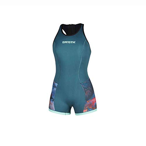 Mystic Womens Diva 2mm Short Jane Wetsuit 200074 - Teal