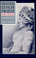 Hester Lynch Piozzi (Mrs. Thrale) 023106389X Book Cover