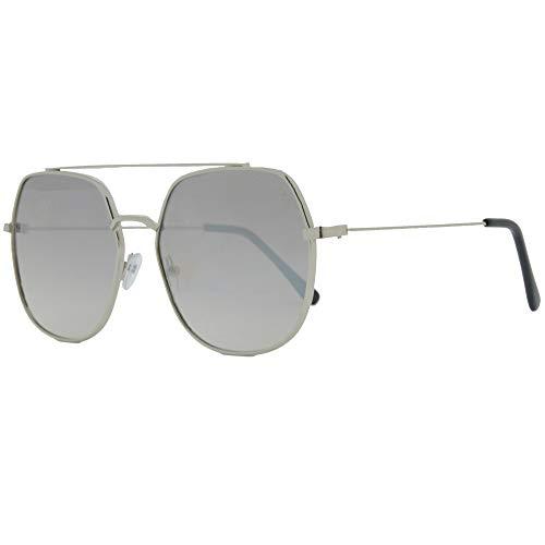 Óculos de sol, Manson, Cavalera, Aviador, Feminino, Prata, Único
