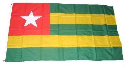 Fahne / Flagge Togo NEU 90 x 150 cm Flaggen