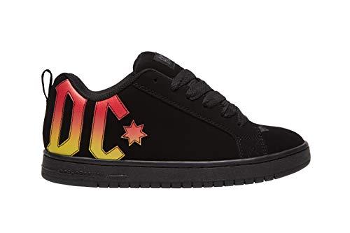 DC Herren Court Graffik Skate Schuh, Schwarz (AC/DC Schwarz), 43 EU