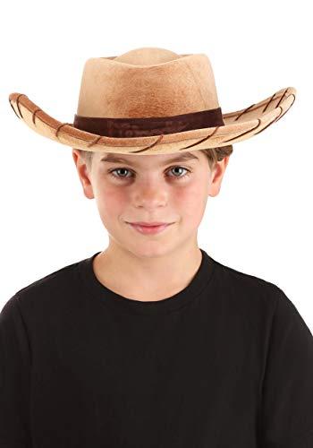 Disney Pixar Toy Story Costume Woody Cowboy Hat for Kids
