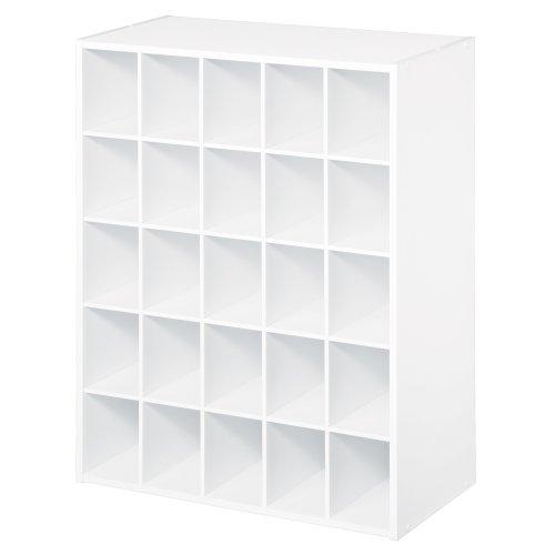 ClosetMaid 8506 25-Cube Organizer, White
