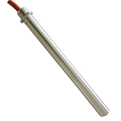 Easyricambi Bougie d'allumage pour poêle à granulés 170 mm 160 mm, diamètre 12,5 mm, 350 W