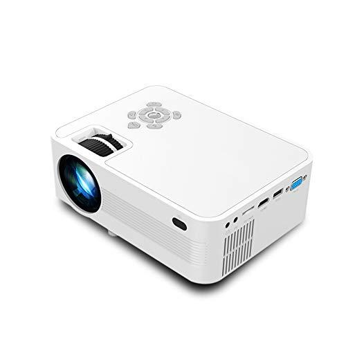Wifi nativa 1080P proyector 5500 lúmenes proyector de vídeo Full HD (1920 x 1080) ± 15 ° 4D Keystone Corrección LCD LED al aire libre Inicio proyector compatible con Iphone Android TV Box PC PS4