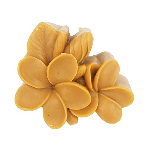 LC Silikonformen mit Blumenmotiv, handgefertigt, für Seife, DIY, Backen, Kuchen, Schokolade