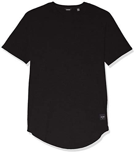 ONLY & SONS Herren onsMATT Longy SS Tee Noos T-Shirt, Schwarz (Black), Medium (Herstellergröße: M)