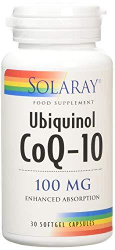 Solaray Ubiquinol CoQ-10 100 mg | 30 SoftGels
