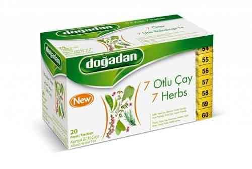 Dogadan Premium Form Tee mit 7 Kraeutern, Kraeutertee, 3er Pack, 3x20 Beutel