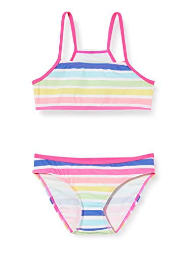 Sanetta Mädchen Bikini Badebekleidungsset, Rosa (Rosa 38086), (Herstellergröße: 104)