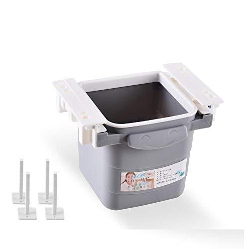 Sinzong Papierkörbe Versteckte Mülleimer Büro Desktop Home Restaurant Küche Versenkbare Lagerung Lagerung Verbrauchsmaterialien-A