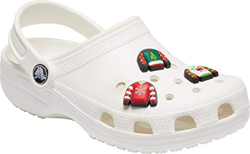 Crocs Jibbitz 3-Pack Shoe Charm, Holiday Sweater, Small