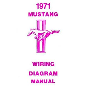 Amazon Com 1972 Ford Mustang Wiring Diagrams Schematics Everything Else
