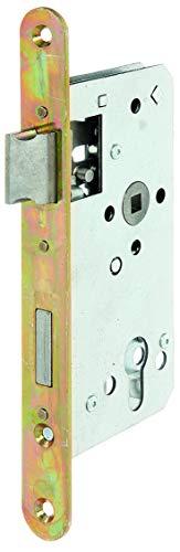 GAH-Alberts 215231 Einsteckschloss | speziell für Rahmentore - mit oder ohne Schließblech | verzinkt | Dornmaß 55 mm
