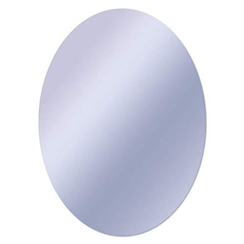 DCLINA Espejo Maquillaje Espejos Pared ovalados sin Marco Espejos Maquillaje Colgantes baño Accesorios baño Vidrio HD Espejo Decorativo, para Pasillo, Sala Estar, Dormitorio